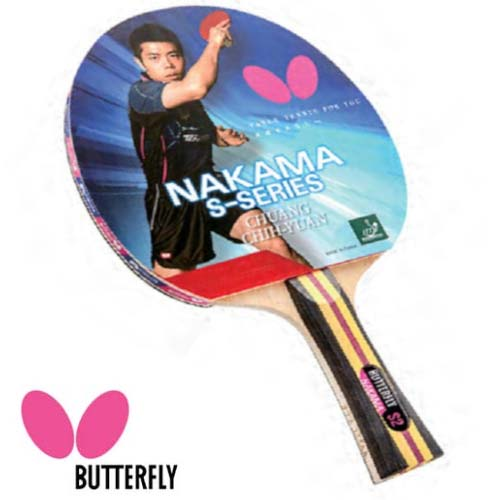 Bet Tenis Meja/Pingpong Butterfly Nakama S2